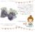 【親子お揃いプレゼント】ピンクドットグリーンとブルーリボンのベビーシュシュ形ラトル【出産祝い/誕生日/ジュメル神戸/記念】メイン1