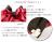 【親子お揃いプレゼント】ピンクレッドとチョコブラウンリボンのママシュシュ【出産祝い/誕生日/ジュメル神戸/クリスマス】詳細