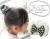 親子お揃いシュシュ専門店ジュメルホワイトギンガムチェックとリボンガールズシュシュドーナツ【出産祝い/誕生日】メイン1