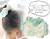 【親子お揃いプレゼント/高級シュシュ】グリーンツイードと白リボン子どもシュシュ【出産祝い/ペア/誕生日/ジュメル神戸】画像1
