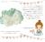 【親子お揃いプレゼント/高級シュシュ】グリーンツイードと白リボンベビーシュシュ【出産祝い/ペア/誕生日/ジュメル神戸】画像
