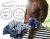 子お揃いシュシュ(ペアヘアアクセサリー)専門店ジュメルツイードママシュシュネイビー【出産祝い/誕生日/妻】メイン 1