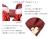 親子お揃いシュシュ(ペアヘアアクセサリー)専門店ジュメルツイードママシュシュレッド【出産祝い/誕生日/妻】詳細