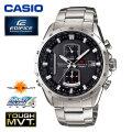 (送料無料) カシオ(CASIO) エディフィス(EDIFICE) アナログ腕時計 電波時計 タフソーラー トリプルセンサー EQW-A1110D-1