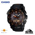 (送料無料) カシオ(CASIO) プロトレック(PROTREK) アナログ腕時計 タフソーラー トリプルセンサー PRG-550-1A4
