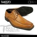 TAKEZO TK291 ブラウン Uチップ TK291BR ビジネスシューズ 紳士靴 メンズ