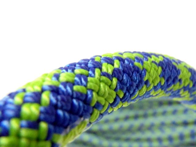 テンドン クライミングロープ インドア 10.4mm 50m ブルー×グリーン