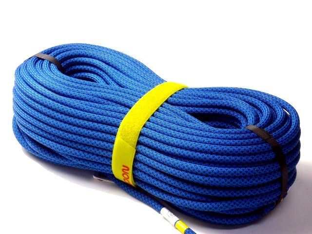 テンドン クライミングロープ アンビション 10.5mm 60m ブルー コンプリートシールド加工