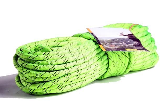 HTPスタティックロープ 12.5mm 50m スターリン ネオングリーン
