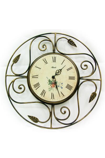 アンティークな振子デザイン掛時計