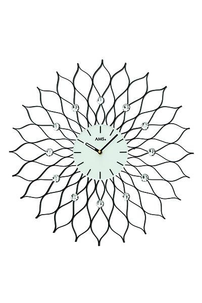 人気のサンフラワーデザイン掛時計。お洒落な装飾掛け時計AMS9383