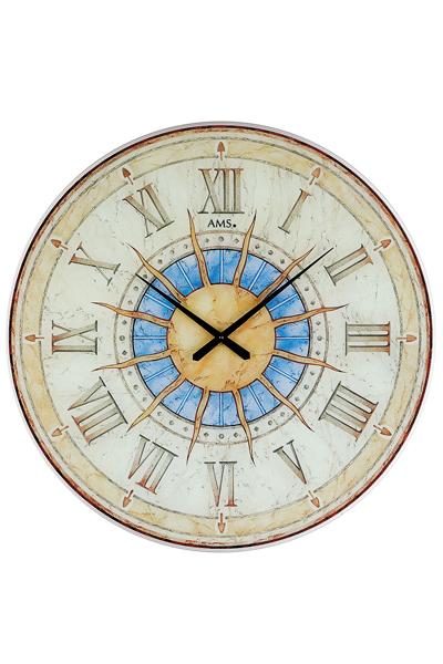 """太陽""""Sonne""""復刻版レトロ掛時計.60cmビッグサイズ掛け時計AMS9230"""
