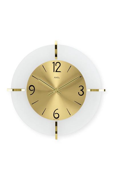 デザイン掛け時計AMS9287(ゴールド)