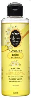 アロマデュウ ボディソープ カモミールの香り