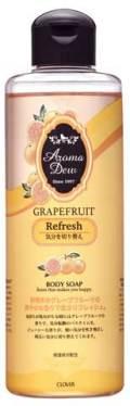 アロマデュウ ボディソープ グレープフルーツの香り