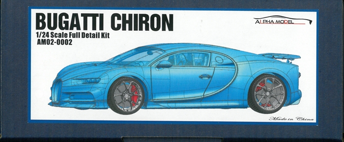 AM02-0002 BUGATTI  CHIRON  1/24scale Full detailkit