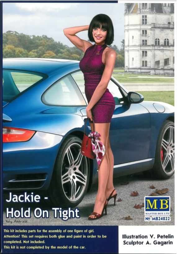 mb-mb24022  1/24 Jackie Hold On Tight  Dagerous Curves Series