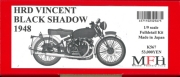 K567 HRD VINCENT BLACK SHADOW 1948  1/9scale Fulldetail Kit