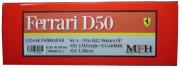 K580 【Ver.A】 Ferrari D50 : 1956 Rd.2 Monaco GP1/12scale Fulldetail Kit