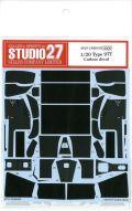 CD20032 1/20 Type97T Carbon decal (F社1/20 Lotus97T対応)