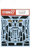CD20040 1/20  102D  1992 Carbon decal (T社1/20 102D FORD対応)