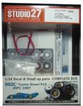 "CP24011 1/24 962C ""Leyton House"" #16 JSPC 1987 set(H社1/24対応)"