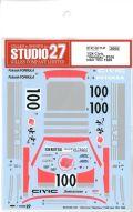 "DC1147  1/24 Civic ""Idemitsu""#100 Inter TEC 1989  (A社1/24 CivicEF3対応)"