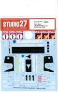 "DC1169  1/24 962C ""BLAUPNKT""#1 Supercup 1986 (H社1/24対応)"