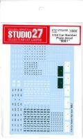 "FP24195 1/24 Car Namber Plate decal   "" 関東1 ""千葉.埼玉.神奈川"