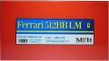 K533  (Ver.C) Ferrari 512BB LM 1980 LM JMS Racing/Pozzi #75