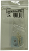 """R043-0007 : """"DIVE NINE"""" Figure Series 1/43scale """"Driver Type A.S [Before the race]"""