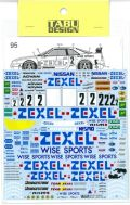 TABU24026 1/24  GT-R(R33) ZEXEL JGTC 1995-98  (T社1/24対応)