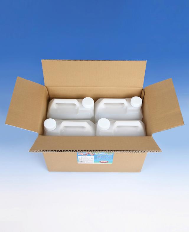 ココナッツ洗剤,多目的洗剤,ココナツ,お徳用1ケース(4リットルX4ヶ),