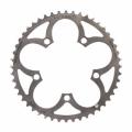Carbon Ti X-Ring チタン チェーンリング アウター (ロード用)