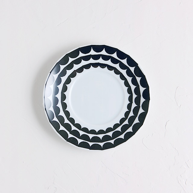 Houseofrym saucer wave black