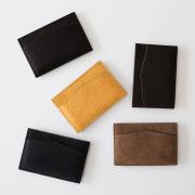 TIRONE/カードケース[ラム革×ヌメ革](全5色)