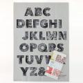 鹿児島 睦/ZUAN & ZOKEI/図案ポスター(B2)/ZUAN Letters