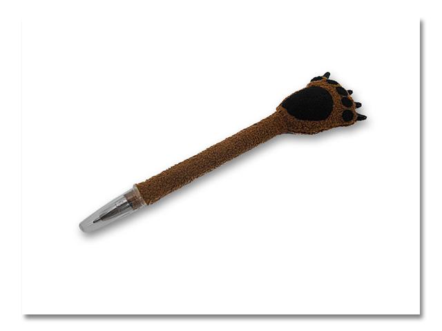 小熊の手ぐるみボールペン