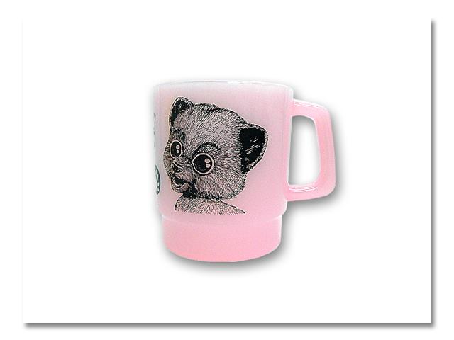 小熊出没 STACKING MUG ピンク