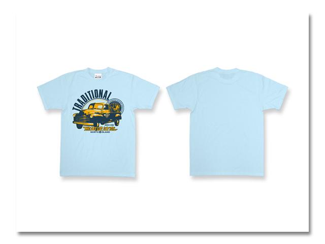 熊出没 CAR Tシャツ ライトブルー