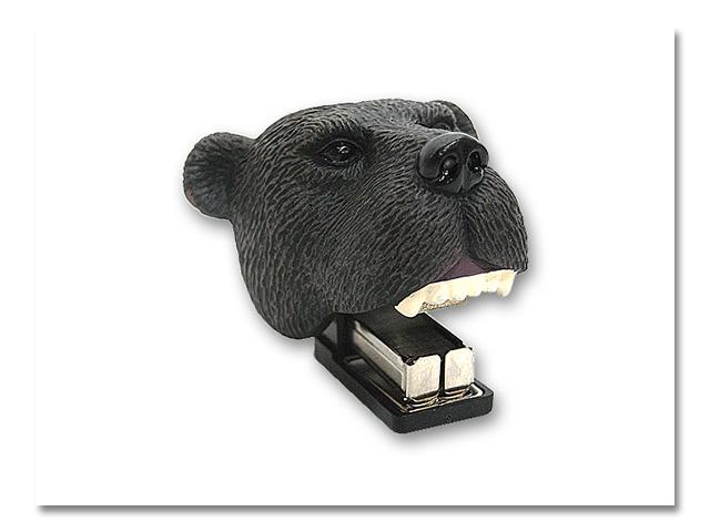 熊頭 パッチンステープル