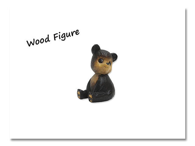 小熊出没 WOOD CRAFT FIGURE 紫