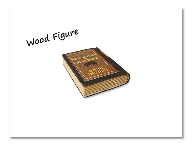 小熊出没WOOD BOOKS 1冊