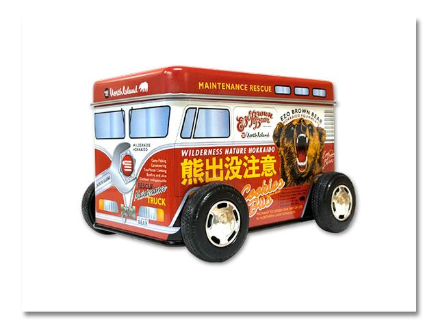 熊出没注意クッキーバス 『じゃがバタークッキー』