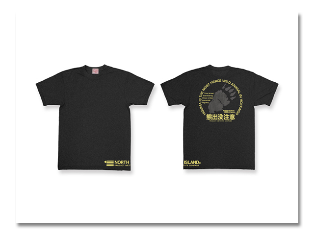 Tシャツ 熊出没'97 黒