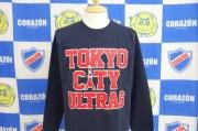 TOKYO CITY ULTRASロングスリーブシャツ