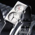 【100本限定値下げ・世界的デザイナー五十嵐威暢氏が長年探求し続けたデュアルの決定版】「DUAL TIME 12+24」(ブラックバンド)