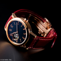 腕時計×木曽漆 匠の技が融合した 機械式腕時計 「SPQR  urushi-kiso 機械式」 限定100本