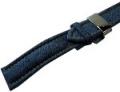 ABOK × SPQR LEATHER WASHABLE (20mm) 藍色の洗えるデニム調レザー