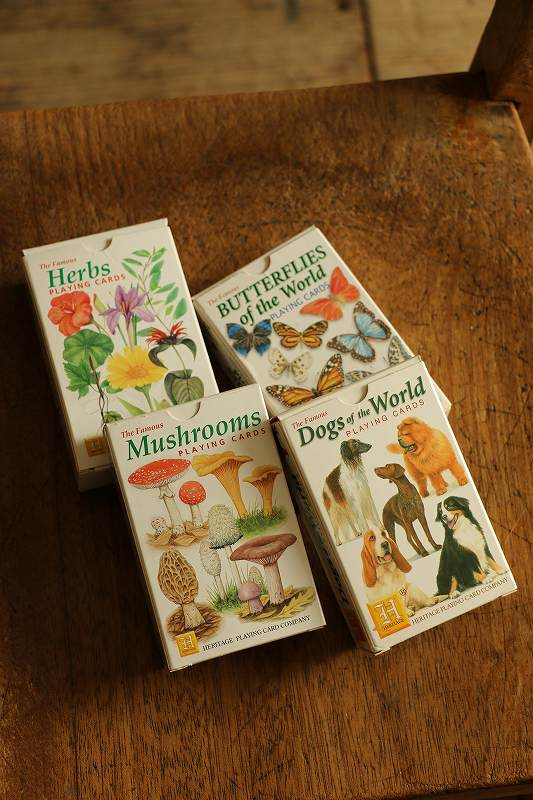 HP013 HERITAGE PLAYING CARDS 4種